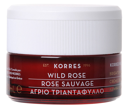 Korres Wild Rose Brightening & First Wrinkles Day Cream - Normal/Combination Skin