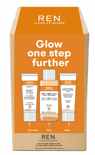 REN Radiance Glow One Step Further Routine Kit