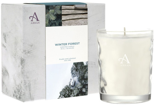 Arran Sense of Scotland Winter Forest Candle