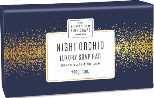 Scottish Fine Soaps Night Orchid Wrapped Soap