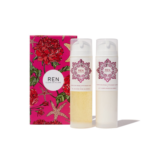 REN Moroccan Rose Otto Body Duo