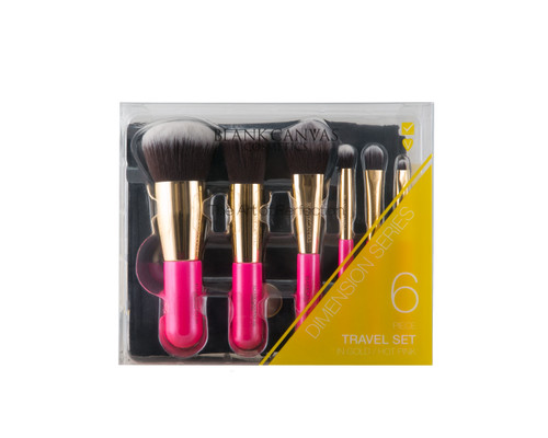 Blank Canvas 6 Piece Travel Set Dimension Series