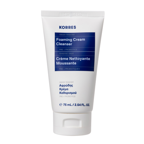 Korres Greek Yoghurt Travel Foaming Cream Cleanser