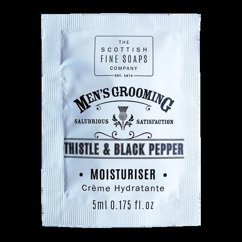 SAMPLE - Scottish Fine Soaps Men's Grooming Thistle & Black Pepper Moisturiser 5ml