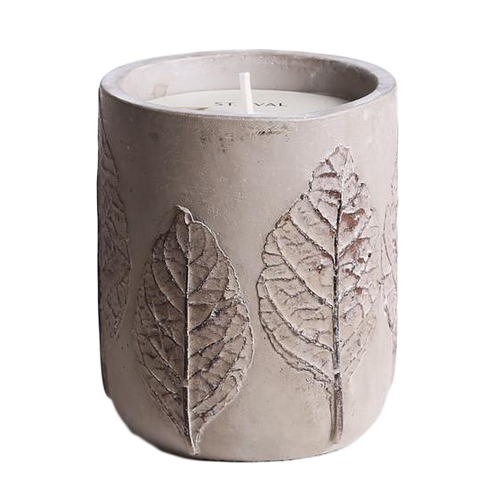 St Eval Candle Garden of Eden Medium Pot Tabac Candle
