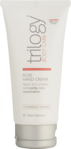 Trilogy Rose Hand Cream for All Skin Types