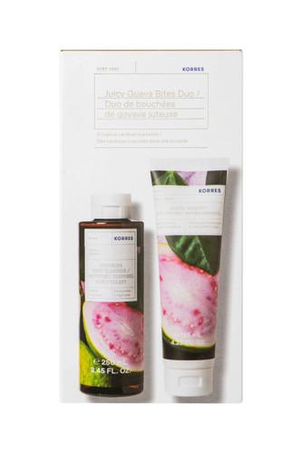 Korres Juicy Guava Bites Bath & Body Duo Set