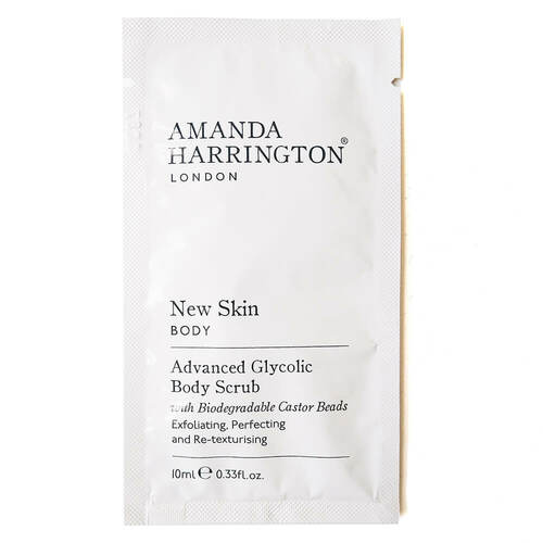 Amanda Harrington New Skin Body Scrub Sachet