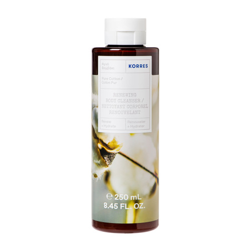 Korres Pure Cotton Renewing Body Cleanser