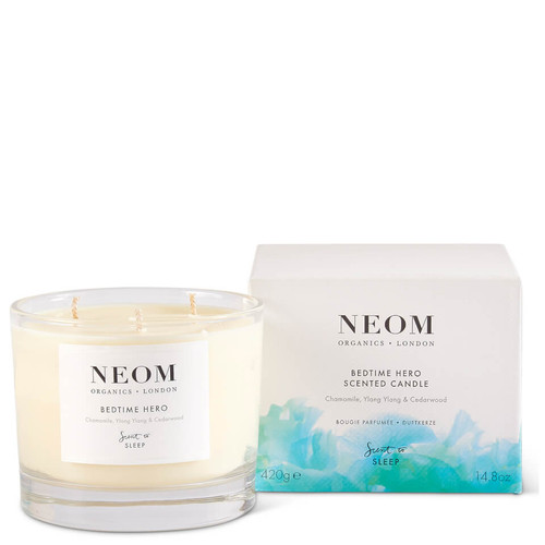 Neom Bedtime Hero Scented Candle (3 Wick)