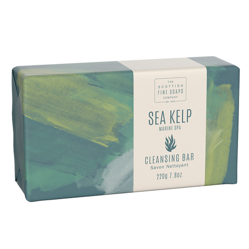 Scottish Fine Soaps Sea Kelp Marine Spa Cleansing Bar