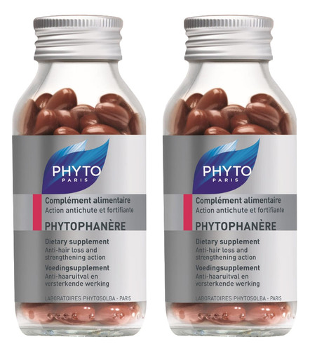 Phyto Phytophanere Hair & Nail Supplements 2 for 1
