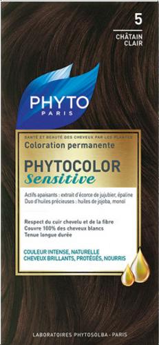 Phyto PhytoColor Sensitive - 5 Light Brown
