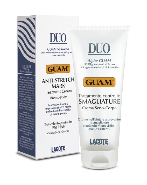 Guam Inthenso Anti Stretch Mark Treatment Cream Breast Body