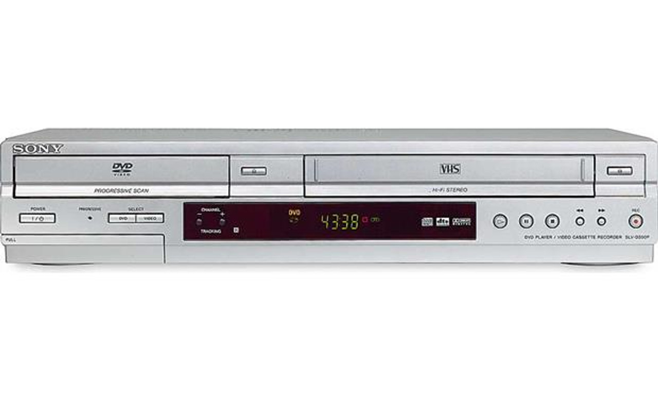 Sony SLV-D350P DVD/VCR Combo (DVD player only & VCR player/recorder)