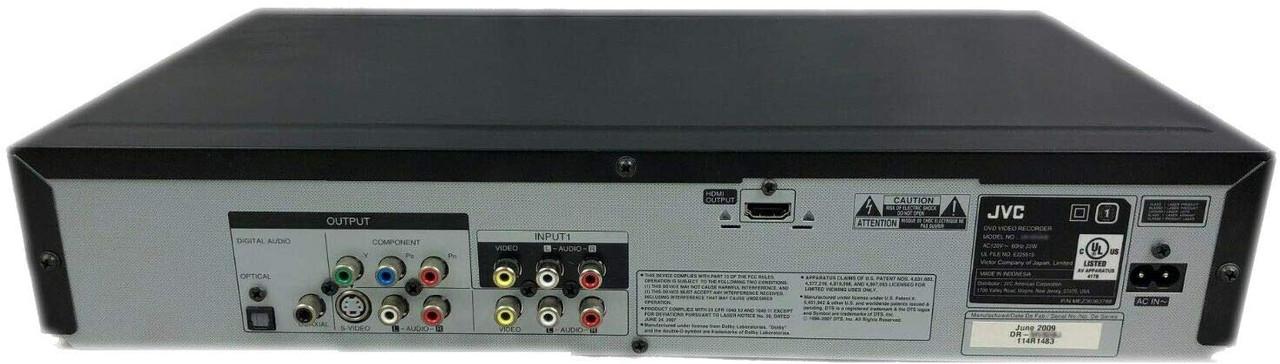 JVC DR-MV80B DVD Recorder /VCR Recorder with HDMI