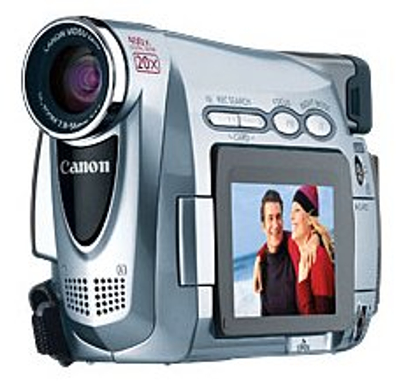 Canon ZR200 MiniDV Camcorder w/20x Optical Zoom