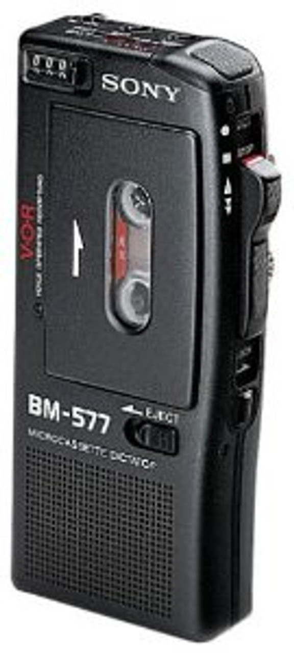 Sony BM-577 Refurbished Micro Cassette Dictation Unit