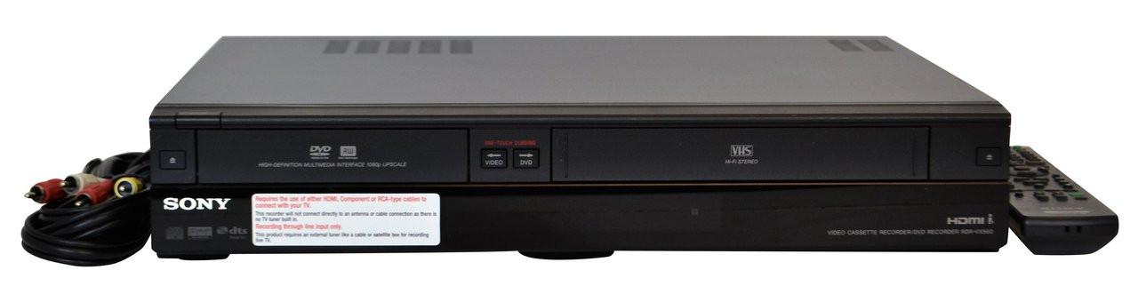 Sony RDR-VX525  DVD Recorder/VHS Combo Player (HDMI)