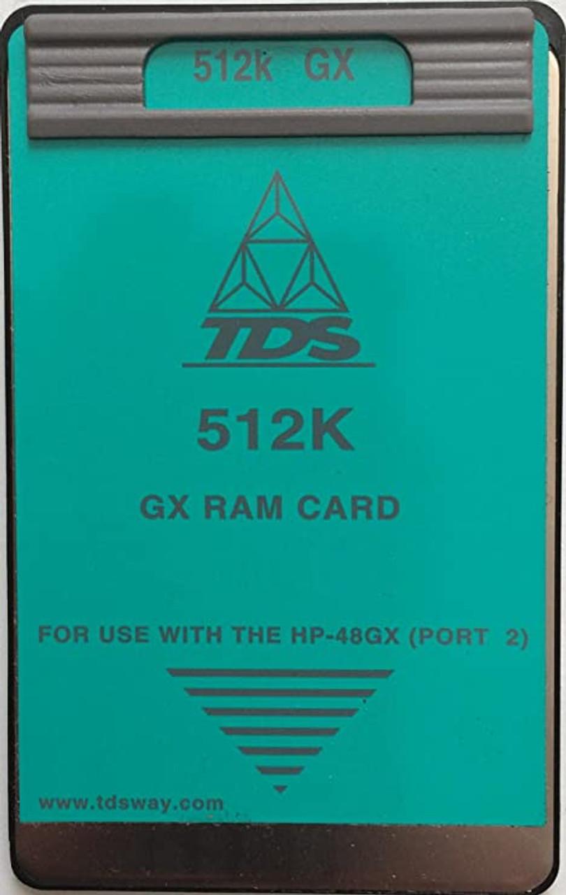 512K RAM Card for HP 48GX Calculators