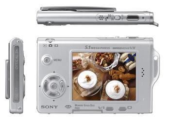 Sony DSC-T7 Cybershot Digital camera