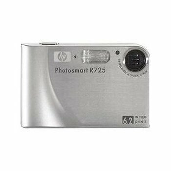 HP Photosmart R725 6.2MP Digital Camera with 3x Optical Zoom