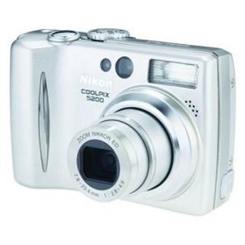 Nikon Coolpix 5200 5MP Digital Camera with 3x Optical Zoom
