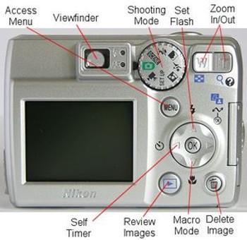 Nikon Coolpix 5600 5MP Digital Camera with 3x Optical Zoom