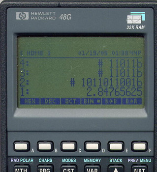 HP-48G Graphing Calculator