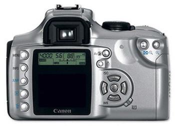 Canon EOS Rebel Ti 35mm SLR Camera w/ 28-90mm Lens