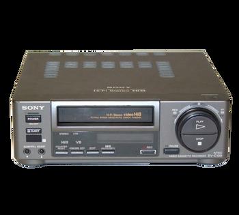 Sony EV-C100 Hi8 Video8 VCR