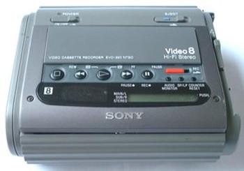 Sony EVO-220 (Video8) Video Cassette Recorder