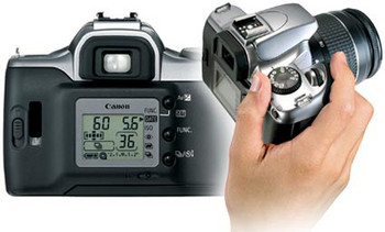 Canon EOS Rebel K2 SLR 35mm Film Camera (35-80mm lens)