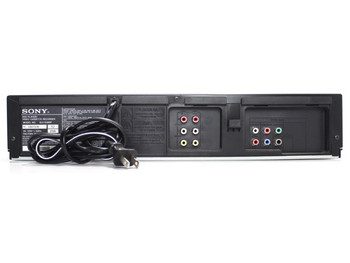 Sony SLV-D380P DVD/VCR Combo  (DVD player only & VCR player/recorder)
