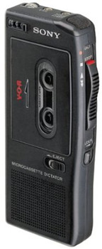 Sony BM-575 Portable Microcassette Dictating Machine