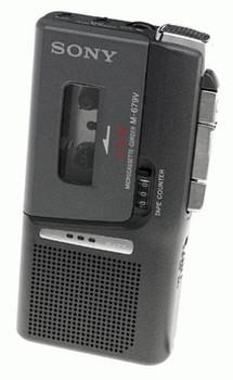 Sony M-679 Microcassette Recorder