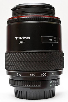 tokina 70-210mm lens