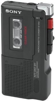 Sony M-450 MicroCassette Recorder