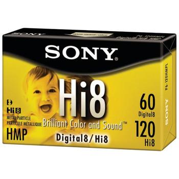 Sony 120 minute Hi8 3-Pack