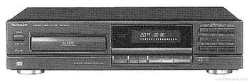 Technics SL-PG340 Compact Disc Player