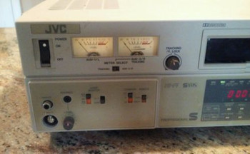 JVC Video Cassette Player BR-S500U