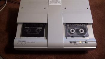 Telex Copyette 1-2-1 Mono Cassette Tape Duplicator Copier