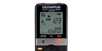Olympus VN-7200 Digital Voice Recorder (Black)