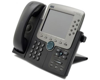 Cisco IP CP-7970G Color Display VoIP Phone