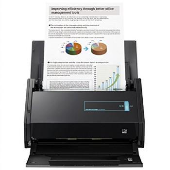 Fujitsu ScanSnap iX500 Color Duplex Desk Scanner, 600 Dpi, 25 ppm, Black
