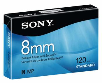 Sony Single 120-min 8mm Tape - New