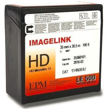 Imagelink HD Microfilm 13 (35mm X 30,5 m 100ft) 114NXHU
