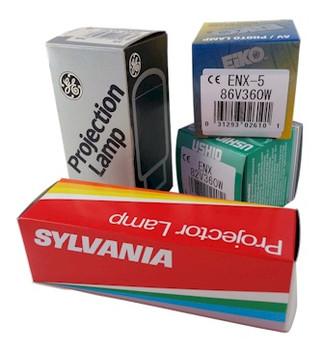 Bolex - M-8, M-8R, M-8S - 8mm Projector - Replacement Bulb Model- CZX, CXY