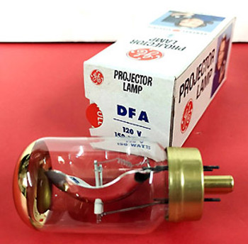 Richmond Research Corp. - 600, 800 - 8mm Movie Projector - Replacement Bulb Model- DFA