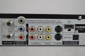 Panasonic DMR-EZ27K (HDMI) DVD-Recorder with ATSC (Digital Tuner)